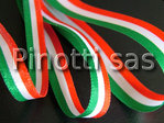TRICOLOR ITALIAN RIBBON MM.10 - ROLLS OF 10 MT