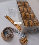 CENTIMETERS-MEASURES FOR TAILORING - BICOLOR - IN TRANSPARENT BOX