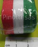 RIBBON ITALIAN TRICOLOR MM 25