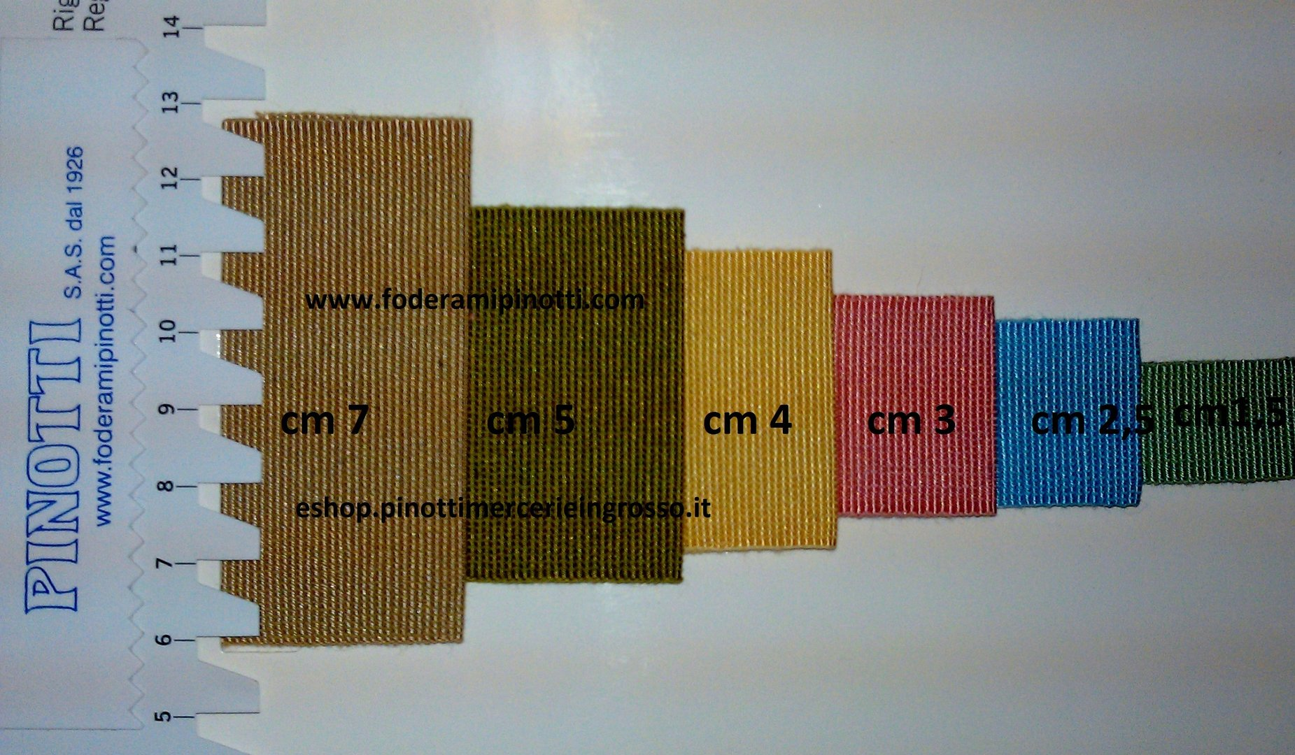 Canete gros grain mm.15 n.3 tessuti e merceria online