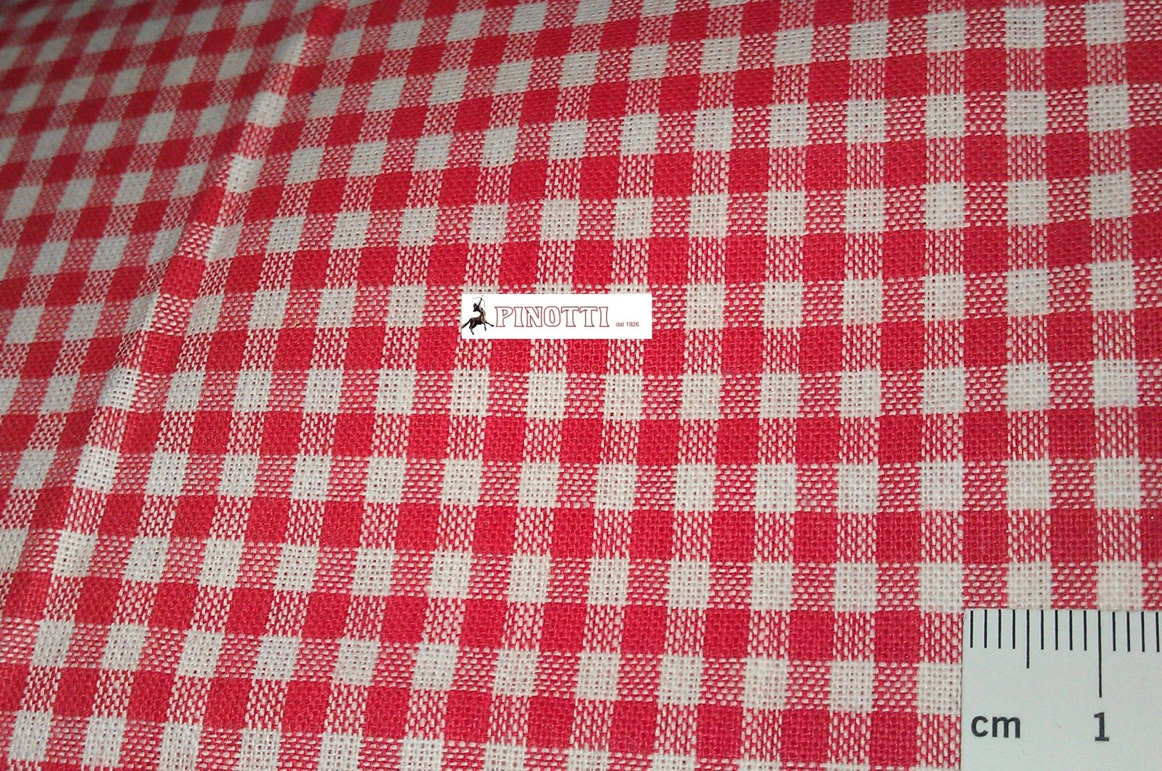 Cotton fabric vichy on meters mm.3x3 width cm 150 fabrics