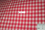 COTTON FABRIC VICHY ON METERS - MM.3X3 / WIDTH CM 150