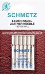 SEWING NEEDLES LEATHER FOR MACHINE- MIXED 80 TO 100 - SCHMETZ