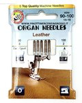 SEWING NEEDLES LEATHER FOR MACHINE-ORGAN-MIXED 90 TO 100
