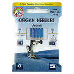 NEEDLES FOR JEANS-DENIM - SYSTEM 130/705 - MIXED 90-100 ORGAN