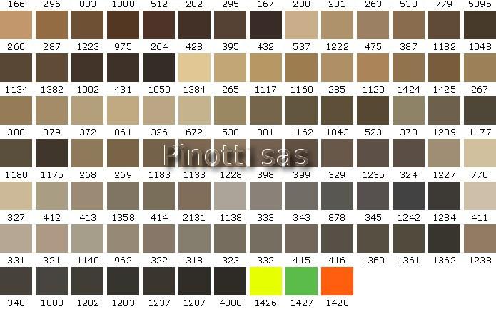 Perfect tabella colori pareti max meyer saba c mt colori for Simulatore arredamento