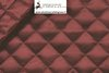 QUILTED LINING COL BORDEAUX - DESIGN CM 3,5 X 3,5