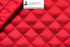 QUILTED LINING COLOR RED - DIAMOND CM 3,5X3,5