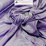 SHANTUNG PURE SILK -LAVANDO' 257- DUPION FABRIC MADE IN ITALY  / CM 144