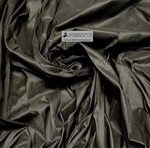 SHANTUNG PURE SILK FABRIC BLACK - WIDTH CM 144 - WOVEN IN ITALY