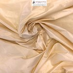 SHANTUNG PURE SILK - BUTTER 104 - DUPION FABRIC MADE IN ITALY  / CM 144