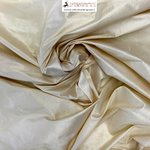 SHANTUNG COL IVORY 103 FABRIC SILK 100% / CM 144 - MADE IN ITALY