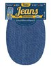 PATCHES IRON ON - IN JEANS DENIM FABRIC CM 16 X 11