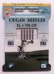 NEEDLE FOR COVER-OVERLOCK EL x 705 CR MEASURE 80/12-ORGAN TOP QUALITY