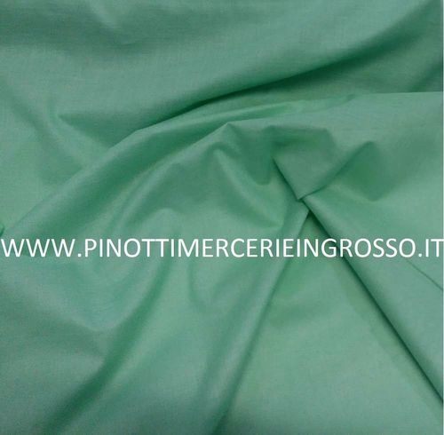 FABRIC FOR MUSK MIX COTTON GREEN NOT CERTIFIED/ CM 150