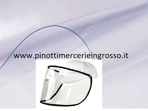 CLEAR PLASTIC COVER FO MASKS PVC CRISTAL - ROLLS OF 20 MT