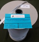 ELASTIC WHITE FOR MASKS MM 7 - ROLL OF 300 MT